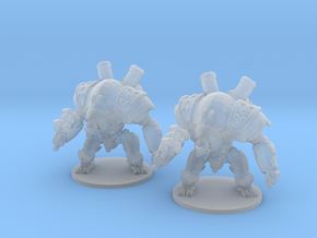 Mechguard 6mm Infantry Epic fantasy models golems in Smooth Fine Detail Plastic