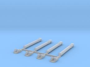 Lyran Illumination Mortar x 4 in Smooth Fine Detail Plastic