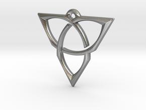 Spektrum Pendant by Nanna Foss: Medium in Natural Silver