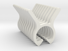 Plant Stem Clip Holders - 3 Sizes Available in White Natural Versatile Plastic: Small