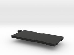 SONY_DD Walkman Battery Door in Black Natural Versatile Plastic