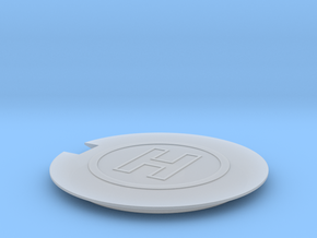 Helipad 1/285 in Smooth Fine Detail Plastic