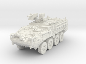 M1127 Stryker RV 1/72 in White Natural Versatile Plastic