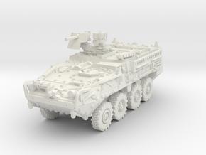 M1127 Stryker RV 1/56 in White Natural Versatile Plastic