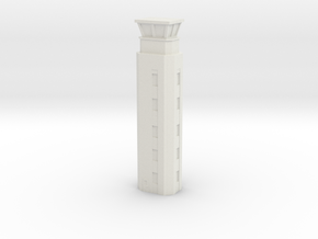 Airport ATC Tower 1/200 in White Natural Versatile Plastic
