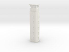 Airport ATC Tower 1/400 in White Natural Versatile Plastic