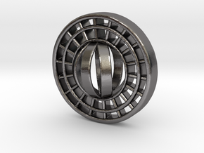 Ring X15 in Polished Nickel Steel: Small
