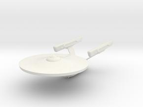 """Enterprise - Phase II v2  4.5"""" long in White Natural Versatile Plastic"""