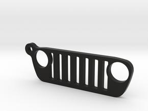 """Jeep Wrangler JL (2018-today) REPLICA - dim. 2"""" in Black Natural Versatile Plastic"""