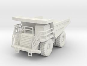 CAT 777F Dump Truck 1/160 in White Natural Versatile Plastic