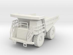 CAT 777F Dump Truck 1/200 in White Natural Versatile Plastic