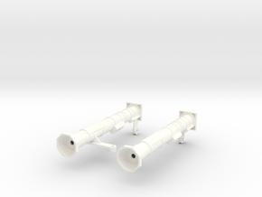 FA30006 AT-4 M136 Launchers 1/10 scale in White Processed Versatile Plastic