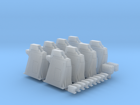 1/144 - Holddown Arms LC-34 (8x mixed) *NEW* in Smooth Fine Detail Plastic