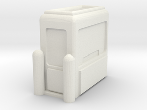 Toll Booth 1/48 in White Natural Versatile Plastic