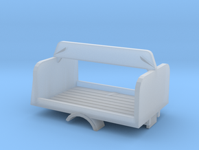 1/160  Beer Delivery Bed in Smooth Fine Detail Plastic