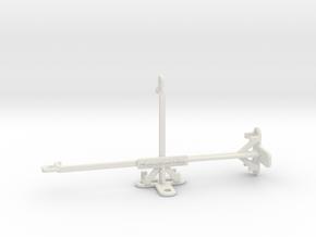 Realme C3 tripod & stabilizer mount in White Natural Versatile Plastic