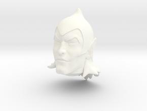 Willen Head VINTAGE in White Processed Versatile Plastic