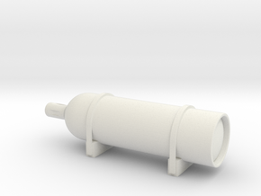 Elco Smoke Generator 1/20 scale in White Natural Versatile Plastic