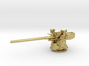 1/48 Uboot 10.5cm/45 Deck Gun in Natural Brass