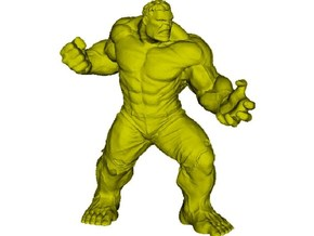 1/72 scale Incredible Hulk figure in Smoothest Fine Detail Plastic