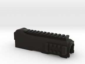 ak lower hand guard MK3 with  RIS 1 large 2 small  in Black Natural Versatile Plastic
