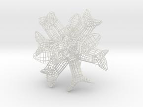 Clamps in White Natural Versatile Plastic