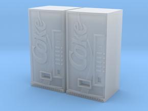 Coke vending machine x2 in Smooth Fine Detail Plastic