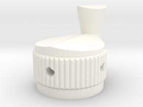 1:1 Ghostbusters  Proton Pack Crank Knob in White Processed Versatile Plastic