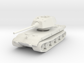 E-100 Tank 1/100 in White Natural Versatile Plastic