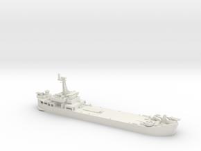 1/600 Vietnam LST in White Natural Versatile Plastic