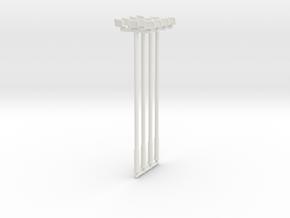 25ft Flood Light (x4) 1/100 in White Natural Versatile Plastic