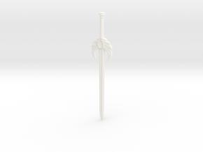 Sword of Light in White Processed Versatile Plastic