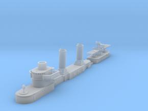 1/600 Bristol destroyer superstructure in Smoothest Fine Detail Plastic