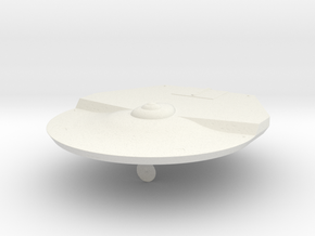 1000 Stingray class hull in White Natural Versatile Plastic