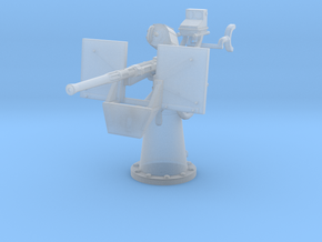 1/96 20mm Oerlikon Mk4 w/ MK14 Gun Sight in Smoothest Fine Detail Plastic