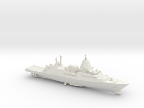 Hunter Class Frigate (Full Hull) in White Natural Versatile Plastic: 1:700