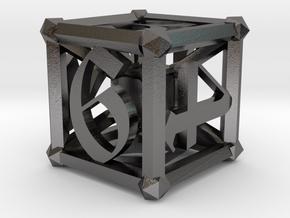 D6 Lattice Work in Polished Nickel Steel