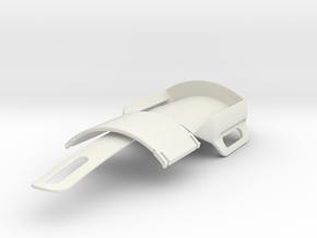 Bracer  Pen Holder in White Natural Versatile Plastic
