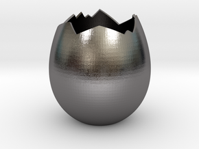 BrokenEgg in Polished Nickel Steel