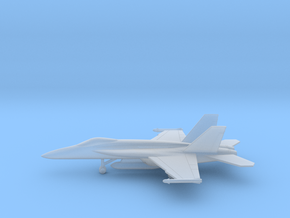 Boeing F/A-18E Super Hornet in Smooth Fine Detail Plastic: 6mm