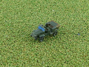French Laffly V15R Jeep 1/285 in Smooth Fine Detail Plastic
