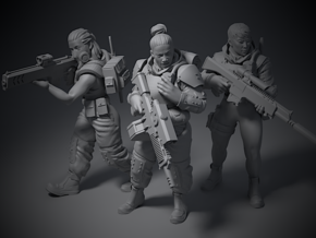 Guardsmen - Squad in Smoothest Fine Detail Plastic