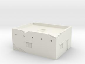 Desert House 1/64 in White Natural Versatile Plastic