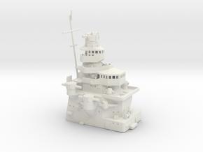 1/350 Heavy Cruiser Furutaka (1942)Front Superstr. in White Natural Versatile Plastic