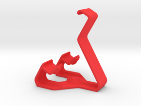 Smartphone stand  in Red Processed Versatile Plastic