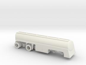 1/43 Fruehauf Tanker Duel Movie NEO Pete w wheels in White Natural Versatile Plastic
