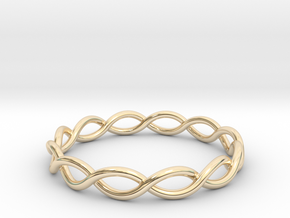 Twisting Ring in 14K Yellow Gold