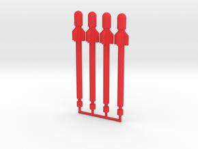 Dreadwing Missiles in Red Processed Versatile Plastic: Medium