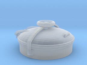 1/48 Uboot Conning Tower Hatch in Smooth Fine Detail Plastic