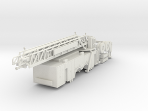 1/87 Pittsburgh Ladder Body Compartment Doors V2 w in White Natural Versatile Plastic
